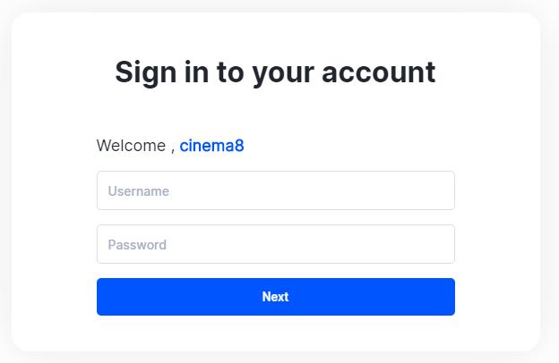 Cinema8 Articles - Signing Up to Cinema8 Platform 3
