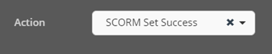 Cinema8 Interactive Video Articles - Setting the SCORM Status to Success by Conditions 2