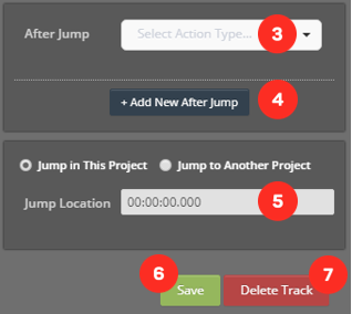 Cinema8 Articles - Interactive Video, Jump To Element,  How to use in Cinema8 6