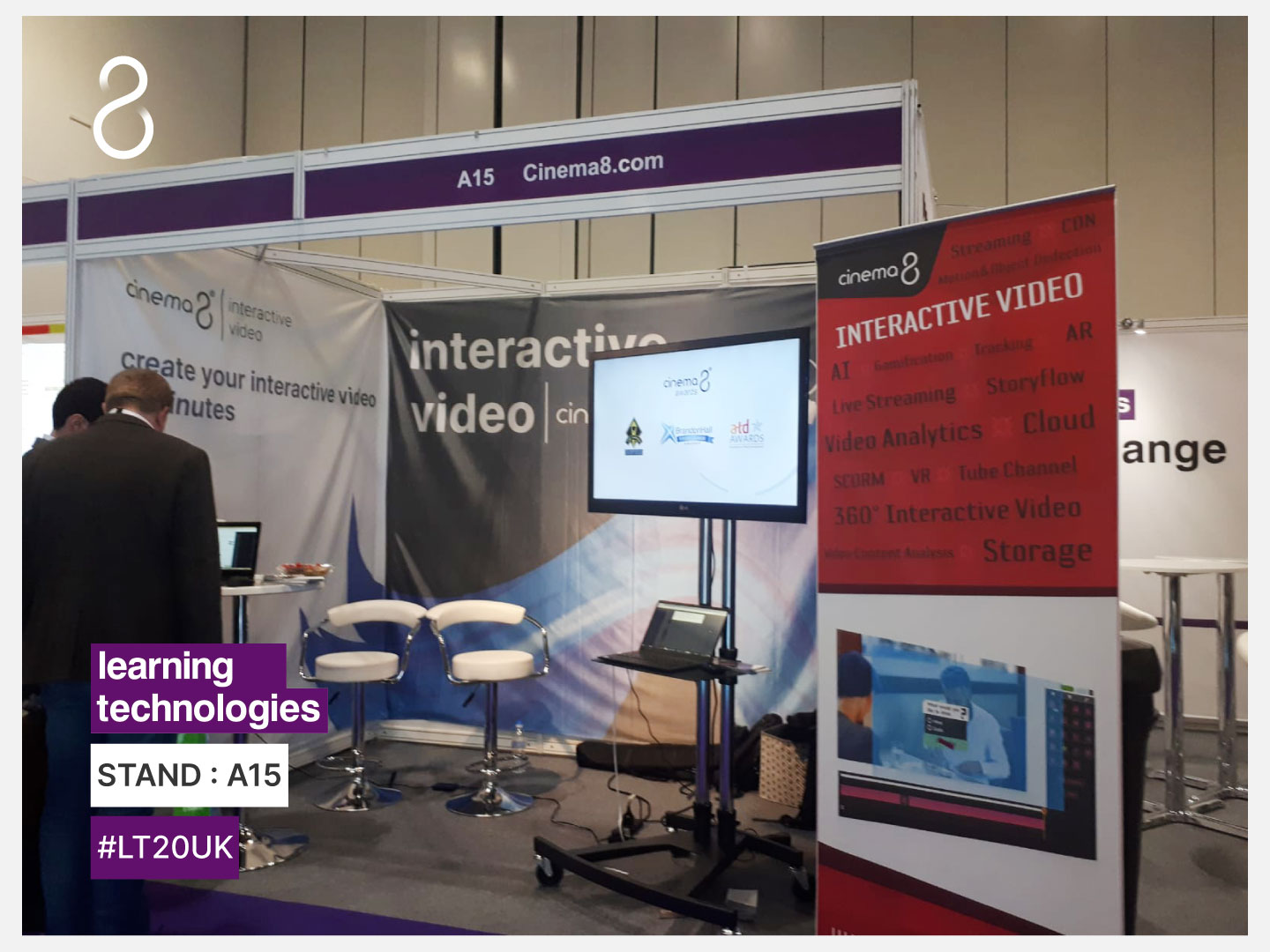 Blog - Cinema8 And Learning Technologies Exhibition 2020