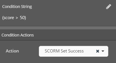Cinema8 Interactive Video Articles - Setting the SCORM Status to Success by Conditions 6