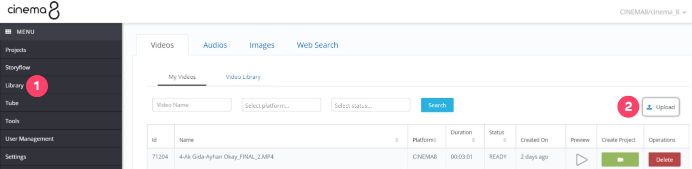 Using 3rd Party Video Streaming Servers 1