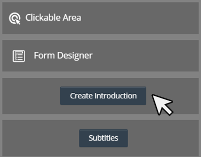 Cinema8 Articles  Interactive Video, Using Introduction Forms 1