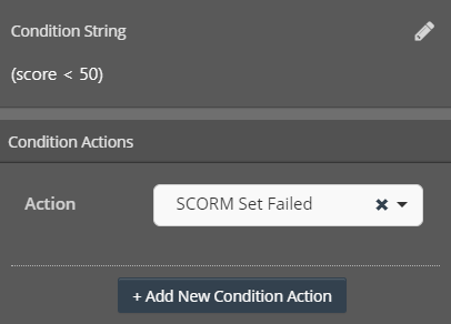 Cinema8 Interactive Video Articles - Setting the SCORM Status to Failed by Conditions 6